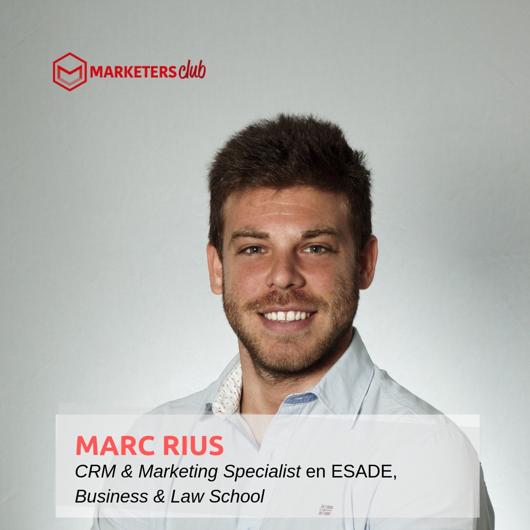 #Podcast3 – Entrevista a Marc Rius, CRM y Especialista en Marketing en ESADE, Business & Law School